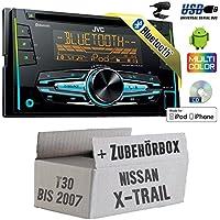 Nissan X-Trail T30 bis 2007 - JVC KW-R920BT - 2DIN