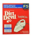 Dirt Devil Typ F5 Hand Vac Filter