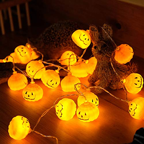 Jack Lantern Kostüm - Lisanl Halloween Kürbis-Lichter, 1, 2, 3