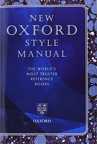New Oxford Style Manual (Reference)