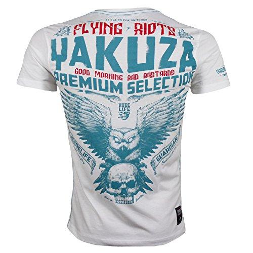 Yakuza Premium T-Shirt 2309 Weiß