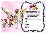 Mia und me Geburtstag Party lädt–Landschaft Rahmen-Design–Party Supplies/Zubehör (12Stück A5Einladungen) WITHOUT Envelopes