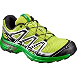 Salomon Wings Flyte 2, Zapatillas de Trail Running Hombre, Verde (Lime Punch./Black/White), 44 EU
