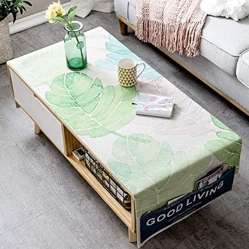 Nordische Baumwolle leinen Kunst tischdecke Wohnzimmer rechteckige Kaffee pad Tabelle Tuch Staub...