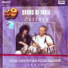 Drums of india ecstasy ustad zakir hussain and ustad alla rakha tabla