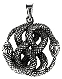 Serpiente Colgante de plata de ley 925Nº 331