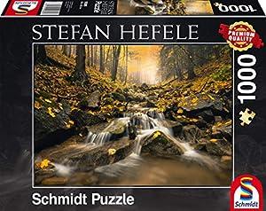Schmidt Spiele 59385-Stefan hefele, Marco Bachmann, Rompecabezas, 1000Piezas