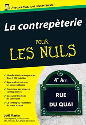 La contrepèterie poche pour les Nuls par Joël MARTIN