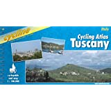 Cycling Guide Tuscany: Cycle Guide and Map (Cycline)