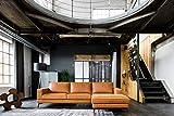 KAWOLA Sofa Bloom Recamiere rechts Leder Retro Cognac