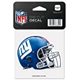 NFL New York Giants 95759010 Perfect Cut Color Decal, 4 x 4 , Black