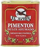 Pimentón Dulce Ahumado Süßes geräuchertes Paprikapulver (Dose 75g)
