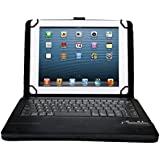 Acer Iconia One 10 B3-A20 10.1-Inch Keyboard - IVSO Removable Bluetooth Keyboard Case for Acer Iconia One 10 B3-A20 10.1-Inch Tablet (Black)
