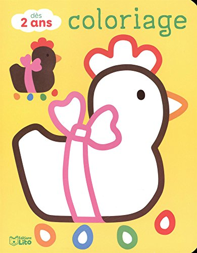 Coloriages pour les tout-petits: Joyeuses Pâques ! - Dès 2 ans par Carole Wey