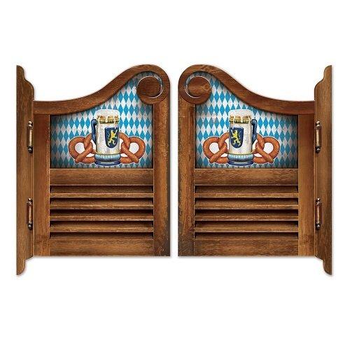 Beistle Oktoberfest Saloon Door Cutouts 61cm x 43,2cm