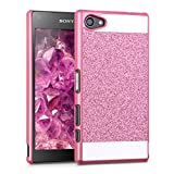 kwmobile Hard case Design Glitter rectangle for Sony Xperia