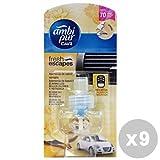 Ambi Pur Set 9Ambi Pur Refill Vanille Lufterfrischer Auto–Artikel für Auto