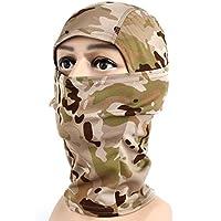 Vovotrade Táctico Militar Camuflaje Ejército Ciclismo Motocicleta Gorra Pasamontañas Sombreros Completo Cara Máscara Sombrerería (D)