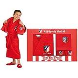 Atlético de Madrid Set de Regalo Escudo Rojo Único