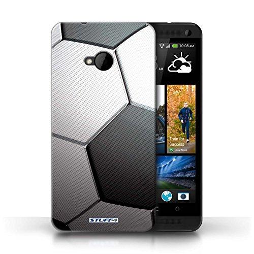 Kobalt® Imprimé Etui / Coque pour HTC One/1 M7 / Tennis conception / Série Balle Sportif Football