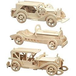 Pebaro 865 - Set de manualidades de madera - Motivo Oldtimer