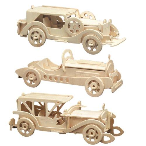 Pebaro 865 - Holzbausatz Oldtimer Set