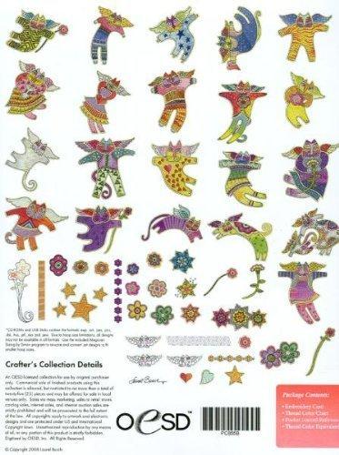LAUREL BURCH FELINE FAERIES Embroidery Designs CD by OESD - Oesd-design