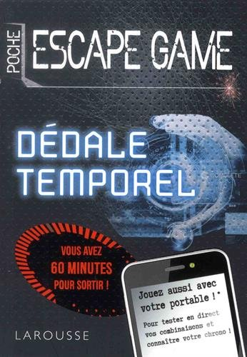 Escape Game de Poche : Dedale Temporel- Cahier de vacances