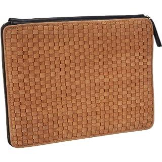 Maanii Bag 644760 Laptop-Tasche Notebook-Hülle, Braun (Cognac 03), 37x31x2 cm (B x H x T)