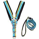 NYJ Pet Control Harness Weste und Leine Set für Hund oder Katze weich und leicht zu Fuß (größe : XXL)