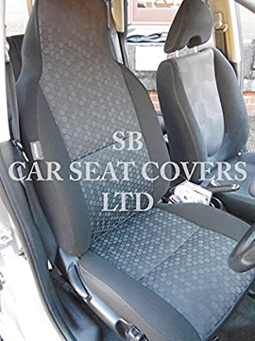 r - SUITABLE FOR MINI CLUBMAN CAR, SEAT COVERS, ROSSINI HONEYCOMB, 2 FRONTS