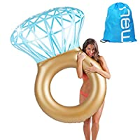 Baby Pig Inflatable Pool Float Raft, Giant Swimming Ring, Outdoor Summer Beach Party Toy Loungers, Water Recreation Leisure Chair for Adults Kids