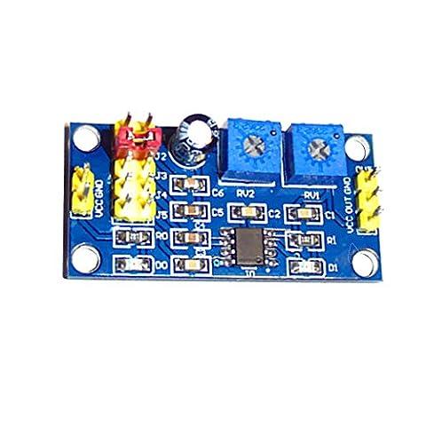 MagiDeal NE555 Module Générateur de Signal D'impulsion à Cycle Réglable Fréquence Carrée