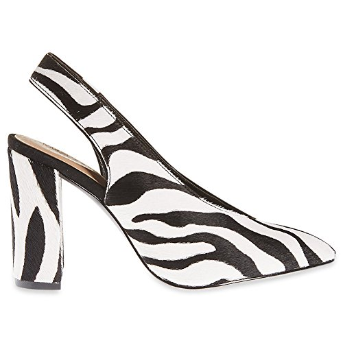 Marks & Spencer T026273W M&S Collection WIDE FIT Hairy Zebra Animal Print...