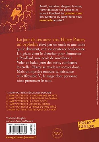 515CnjTINWL - Harry Potter, I:Harry Potter à l'école des sorciers (Folio Junior)