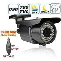 BW - Telecamera CCTV Sony Effio-E 700TVL, obiettivo 2,8-12 zoom,