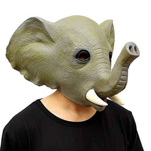 ween Lustige Elefant-Masken-Kopfbedeckung ()