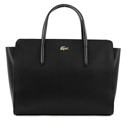 LACOSTE Chantaco Shopping Bag Black