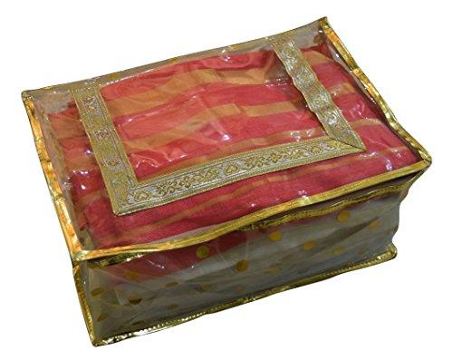 Shagar Fashion Golden Dotted Shimmer Saree cover / saaree cover / saaree...