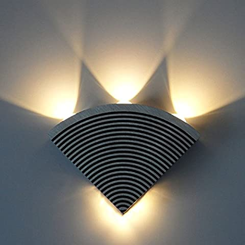 FEI&S Camera da letto luce da parete nichel spazzolato in vetro smerigliato maschera Lampada di cortesia #4