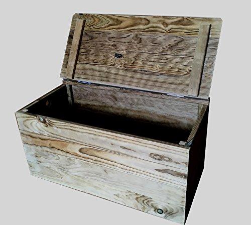 Ba l banco de madera tratada para el exterior for Banco baul exterior