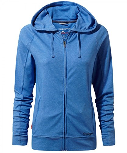 "Damen Sweatjacke / Kapuzenjacke mit Insektenschnutz ""NosiLife Marlin Jacket"" night dark blue"