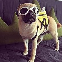Kailian® Moda Mascota Cachorro Perro UV–Diversión gafas gafas gafas de sol gafas de resistente al agua plegable para perro–Color blanco