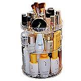 love+djl Kosmetikständer Rotierenden Kosmetischen Kristall Make-Up Organizer Aufbewahrungsbox Regal Display @ Clear