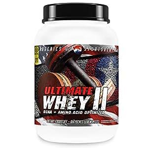 USA Protein by BBGENICS - Ultimate Whey - 100% reines Molken Eiweiß - 10.000g Vanille
