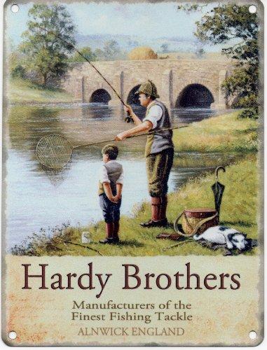 la-hardy-brothers-aparejos-de-pesca-metal-esmaltado-publicidad-letrero-de-pared-200-mm-x-150-mm