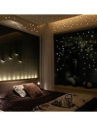 Prevently Home Pegatinas de Pared para Decorar la habitación de los niños, 407 Unidades, diseño de Estrella en la Oscuridad, diseño de Lunares Redondos, Verde