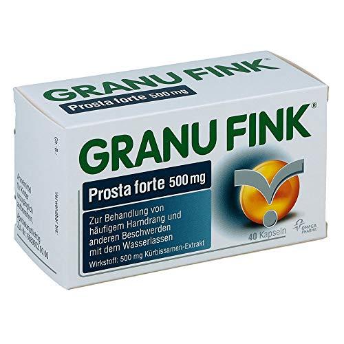 GRANU FINK Prosta forte 500 mg, 40 St. Hartkapseln