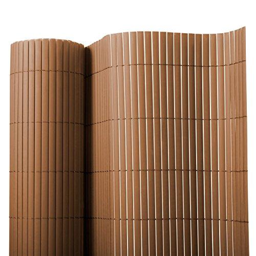 Brise vue casa pura® en marron | brise-vent pour l'usage extérieur | tailles diverses - matière robuste | 200x300cm