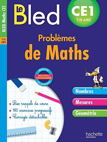 Cahier Bled - Problèmes De Maths Ce1 par Monique Verchère